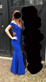 Royal Blue long tapered Prom, Homecoming, Christmas, Wedding  or special occasion bridesmaid dre... in St. Charles, Illinois