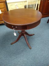 Antique Round Parlor Table in Chicago, Illinois