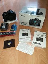 Canon Eos 80D, 3 Lenses and couple accessories. in Ramstein, Germany
