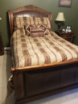 Queen Sleigh Bed in Kingwood, Texas