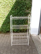 metal shelf (white) in Ramstein, Germany