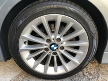 4 New Tires on BMW Rims 225/45-ZR17 / GREAT DEAL in Ramstein, Germany