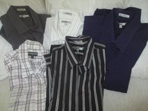 Young Men's Express, Guess, Banana Republic, & English Laundry shirts- Size Large in Westmont, Illinois