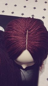 braided wigs hand made in Ramstein, Germany