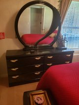 Dresser with mirror and queen size bed (without mattres) in Fort Knox, Kentucky