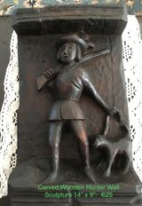 Hunter: Carved Wood in Ramstein, Germany