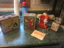 Raggedy Ann super Package vintage lot including Battery Powered Tooth Brush, with original box a... in Joliet, Illinois