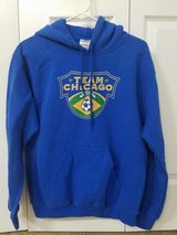 Like New Team Chicago soccer club Hoodie in Westmont, Illinois