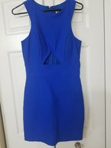 New Royal Blue bodycon dress with cutout size 9 in Westmont, Illinois