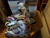 Womens size 9 Rollerblades purple/grey in Houston, Texas