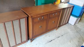 PRICE DROP !!!  Fisher, Kenwood, Dual, Allied, Realistic Vintage Stereo Console Set in Joliet, Illinois