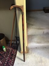 Custom Made walking cane, exotic woods in Naperville, Illinois