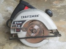"Craftsman 7.25"" Circular Saw in Glendale Heights, Illinois"