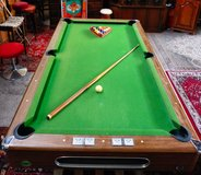 Pool Table with Cue and balls in Ramstein, Germany