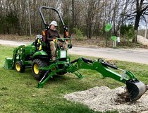 Bartering small John Deere tractor jobs for anything of value in Fort Leonard Wood, Missouri