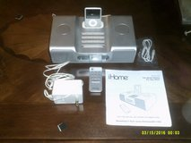IHOME SYSTEM WITH RECHARGEABLE DOCK FOR IPAD WITH IT IS IPOD AND PORTABLE CONTROL  AM-FM RADIO,I... in Chicago, Illinois