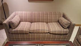 Sofa bed couch and love seat in Aurora, Illinois