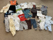 3 month & 3-6 month clothing lot - 39 pieces in Chicago, Illinois