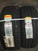 Pirelli Scorpion Verde All Season Plus (M+S) tires (2 new and one used with lots of tread still)... in Lakenheath, UK