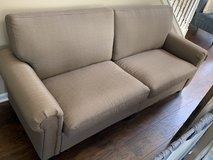 Taupe Couch in Aurora, Illinois