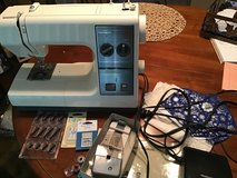 Kenmore sewing machine and accessories in Glendale Heights, Illinois