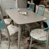 Mid century Modern Dining Room Table and Chairs in Naperville, Illinois