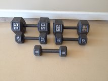 Dumbbells in Fort Benning, Georgia