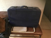 Navy Blue Large Suitcase in Naperville, Illinois