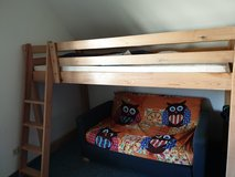Loft bed and couch in Ramstein, Germany