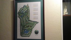 Butler Golf Course Framed Picture in Naperville, Illinois