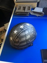 Vega Warrior XL Motorcycle Half Helmet XL but adjustable in Westmont, Illinois
