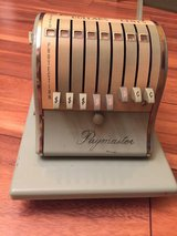 VINTAGE PAYMASTER SERIES X-550 CHECK WRITER STAMPING MACHINE in Naperville, Illinois
