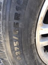 Three Michelin P275 /65 r18 Six lug Chevy wheels in 29 Palms, California
