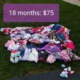 18 month girls clothes- HUGE lot: REDUCED in Chicago, Illinois