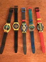 1980's Swatch Watches in Byron, Georgia