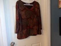Lined Print Top in Chicago, Illinois