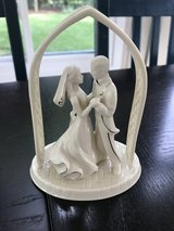 Lenox bride and groom in Glendale Heights, Illinois