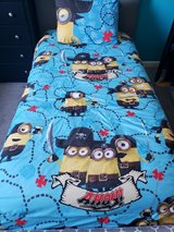 4 pcs Pirate Minion Twin Full Bedding set in Clarksville, Tennessee