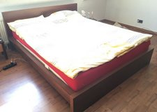 Ikea malm bed in Ramstein, Germany