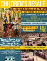 Kid's Resale - 50+ Sellers - Saturday 9/21 ONLY! in Bolingbrook, Illinois