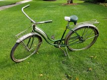 Vintage 1950's Schwinn bike in Chicago, Illinois