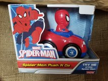 Spider- man push n go in Naperville, Illinois