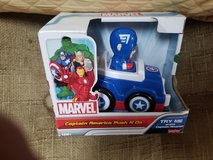 Marvel captain America push n go new in Naperville, Illinois