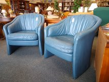 2 Blue Club Chairs in Bartlett, Illinois
