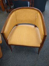 Gold and Cream Side Chair in Bartlett, Illinois