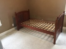 Twin bed frame from Costco in Chicago, Illinois