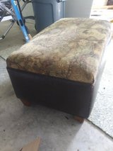 Upholstered ottoman in Wilmington, North Carolina