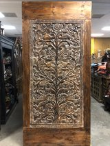 19th Century Vintage Hand Carved Tree of Life Doors in Fort Drum, New York