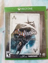 Batman return to arkham new sealed x box one in Joliet, Illinois