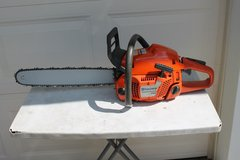 Husqvarna 350 chainsaw in Byron, Georgia